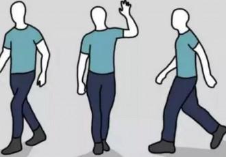 走路姿势不正确影响颈椎健康