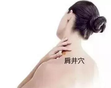 落枕与肩痛的特定穴之肩井穴 第1张